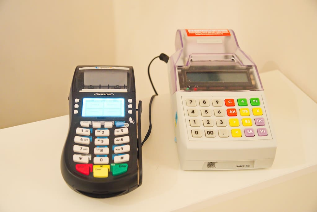 We accept cash and credit cards