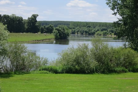 3* bord rivière aux portes d'Angers - Écouflant