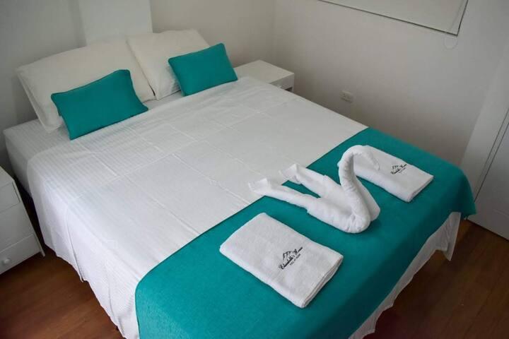 Habitación principal - cama Queen