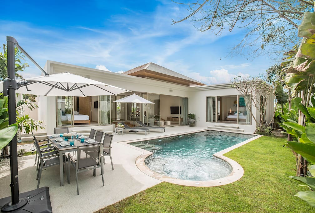 Villa 777 Luxury New Pool Villa With Jacuzzi Villas For Rent In Tambon Choeng Thale Chang