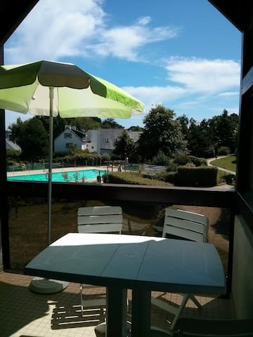 Appartement 5 pers. Vue/ piscine   - Carnac - Apartment