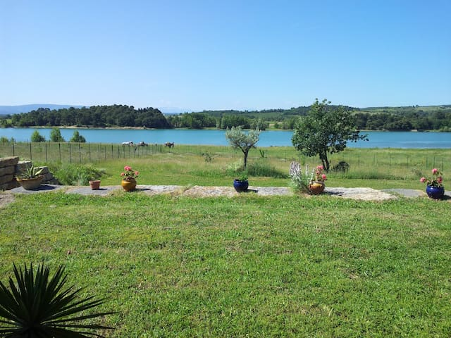 Lake, Nature-  4 P + BB -  Spa - Carcasona - Casa