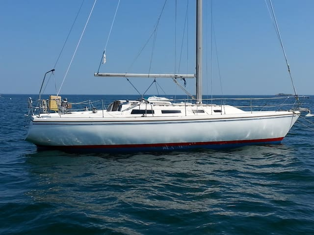 Summer on Sailboats - Warm Breezes - Swampscott - Barco