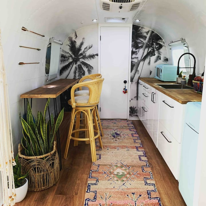 Boho Chic Airstream in Highland Park