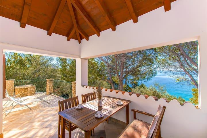 Kuća s dvije sobe, na plaži, Potočnica - otok Pag