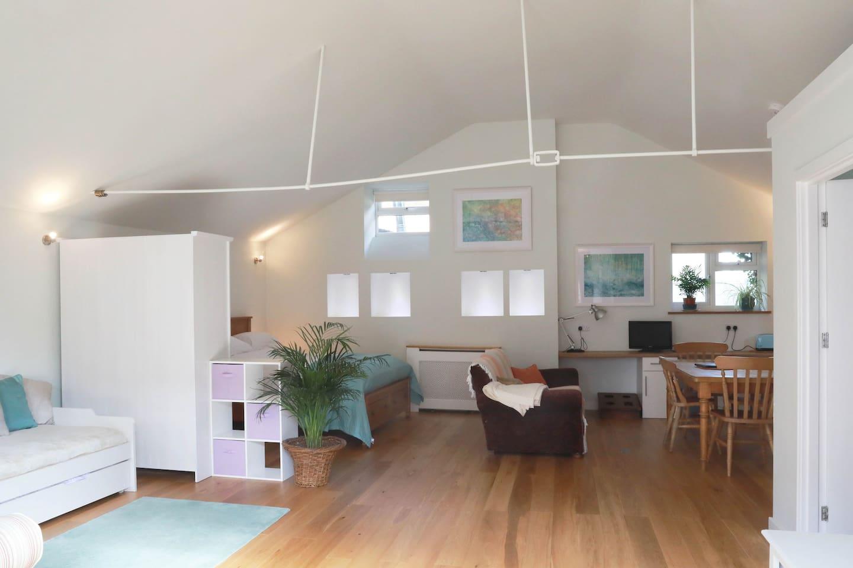 The Open Plan Barn Apartment