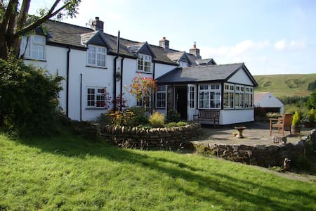 Luxury B&B in Traditional Welsh Cottage - Dylife