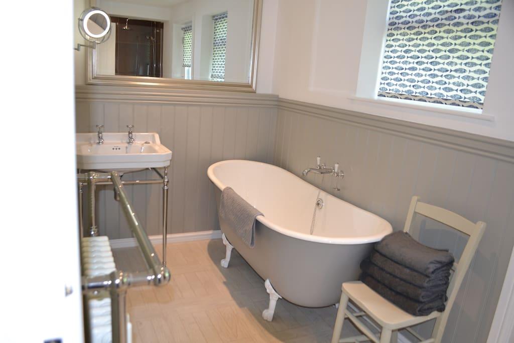 Freestanding Iron bath