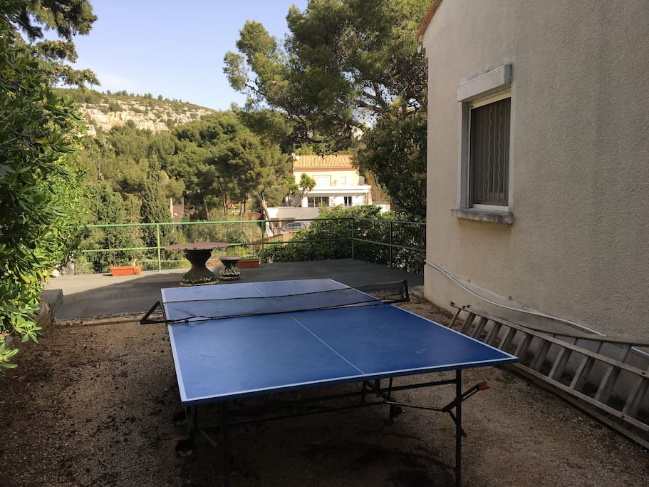 Espace ping pong