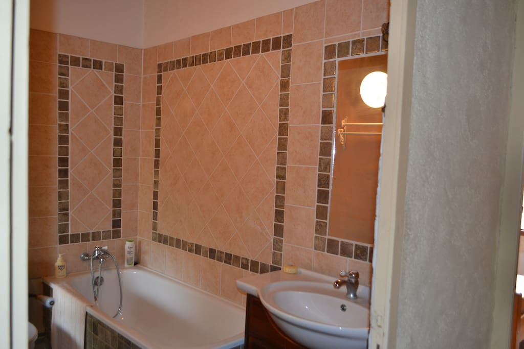 Salle bain avec WC