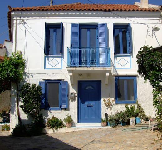 Gerenoveerd traditioneel Grieks huis
