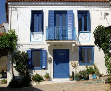 Renovated traditional Greek house