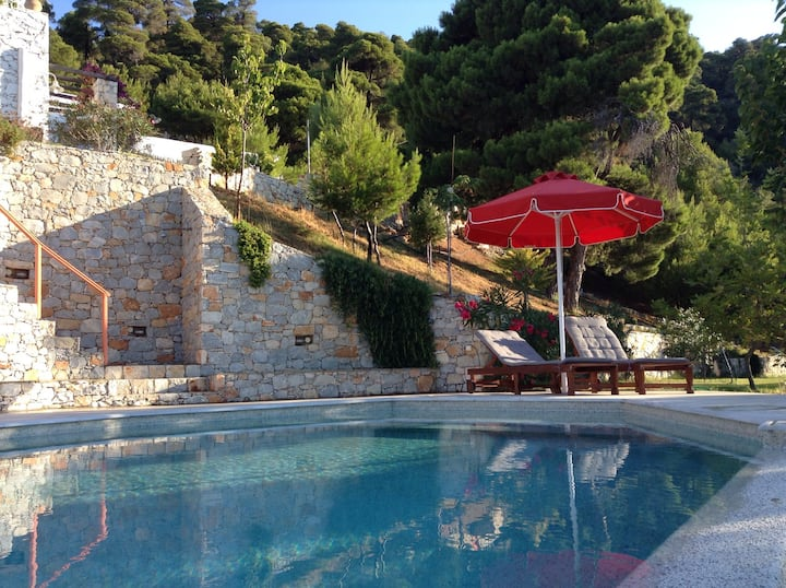 Pefkos House Bougainvilla with Pool
