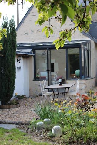 Maison de charme proximité d'Angers - Rochefort-sur-Loire - Rumah