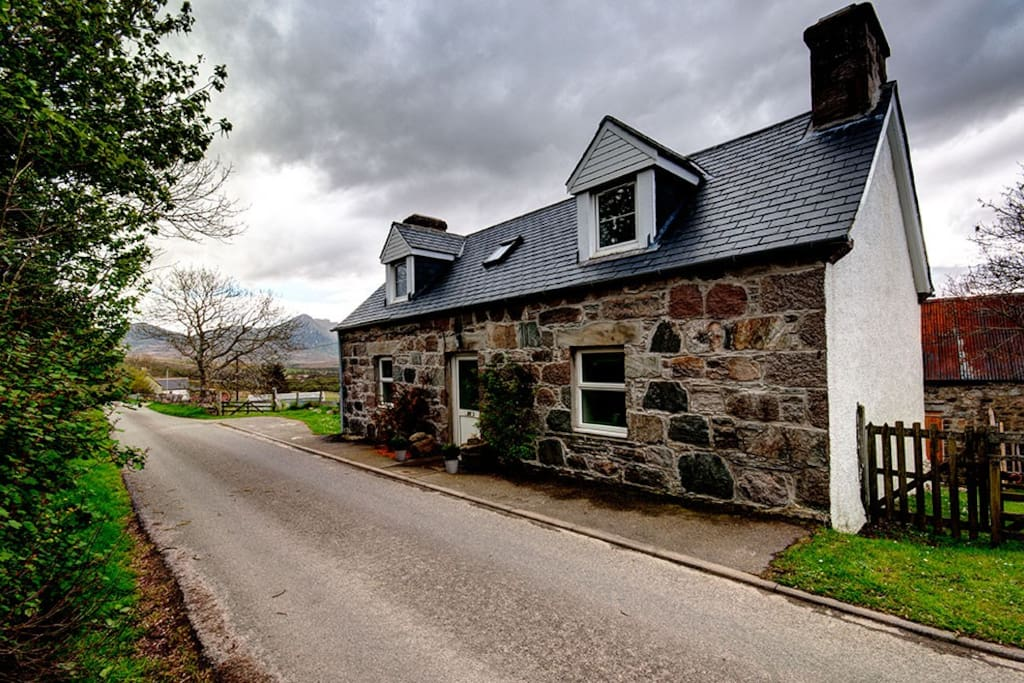 charming highland cottage on nc500 route h user zur miete in tongue schottland vereinigtes. Black Bedroom Furniture Sets. Home Design Ideas