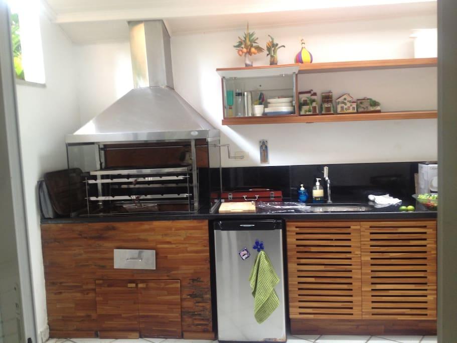 Churrasqueira/ Barbecue area