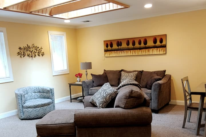 Bright and cozy 2 bedroom apartment in South Hills