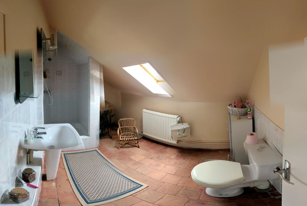 Shared bathroom (2 rooms to share)