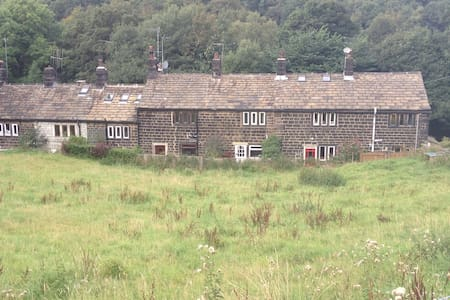 stone cottage in hills - West Yorkshire