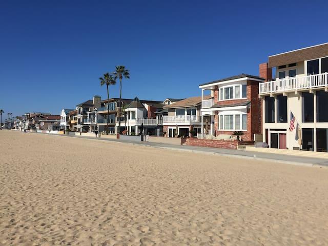 Private Oceanview Apt.on the sand No.1 - Newport Beach - Apartemen