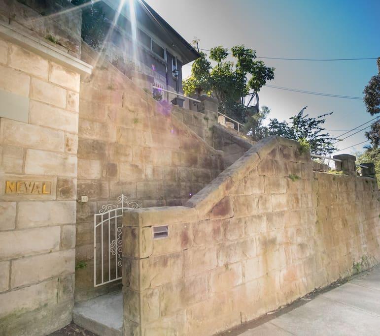 """Neval"" - Beautiful sandstone period home"