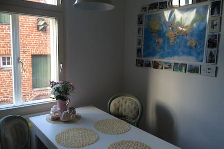 Wohlfühl-Wohnung in der Lüneburger Altstadt - Apartment