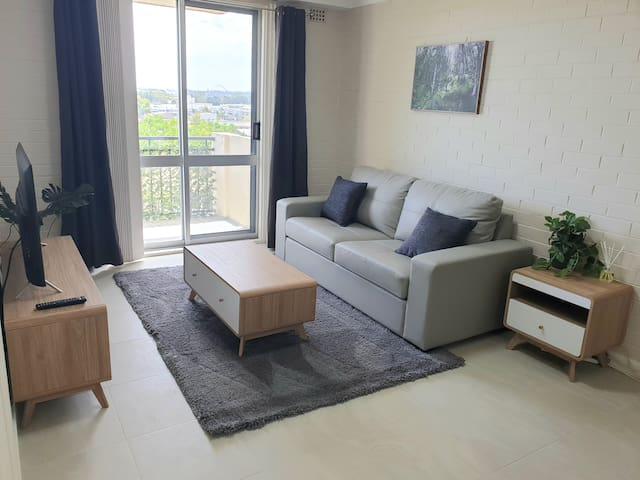 Vic Park, renovated 1 bedroom unit, City Views