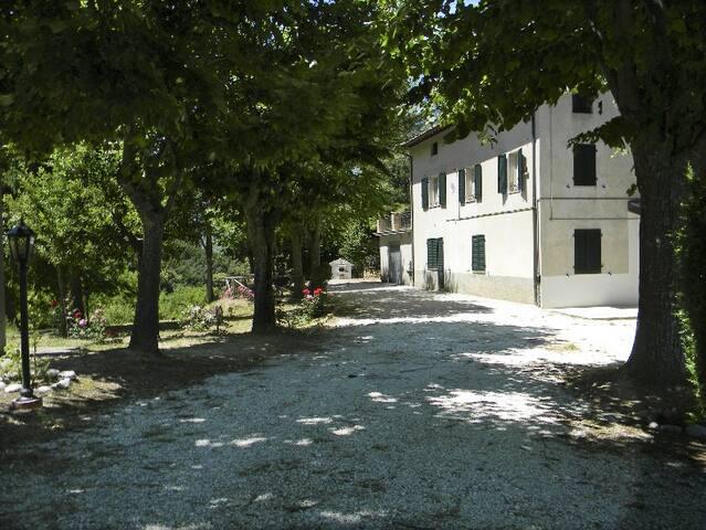 Antico Casolare sul Lago di Gerosa - Comunanza - Haus