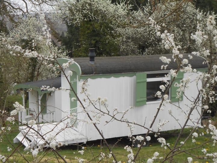 Pipowagen in de Bourgogne