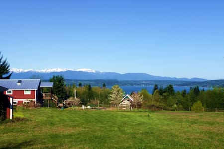 Barn with a View: Organic Farm in Kitsap - Poulsbo - Loft