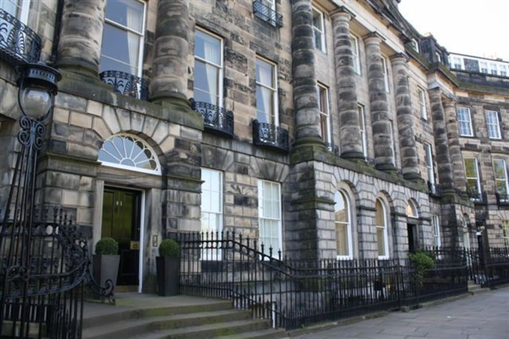 Moray Place is one of the most exclusive addresses in Edinburgh