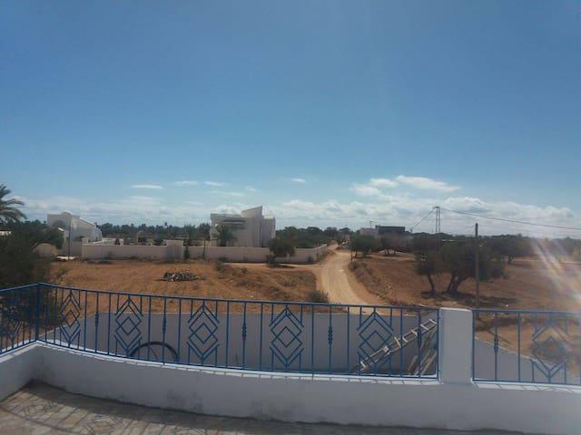 Belle,nouvelle maison meublée cartier tranquille - Djerba Midun - Talo