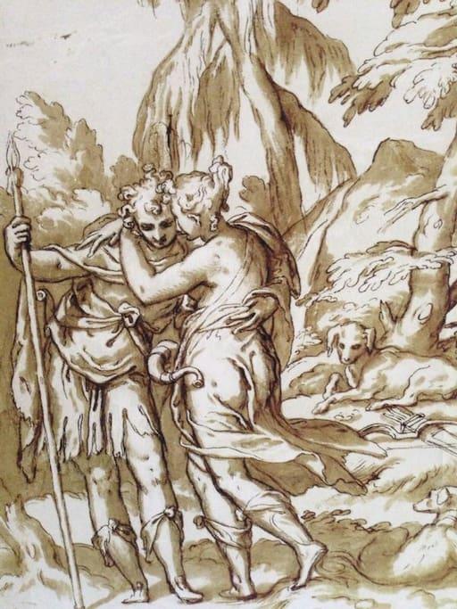 Paolo Farinati, Venus and Adonis