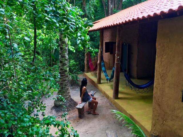 Casa Floresta, 30m Praia de Moreré - Pé na areia!!