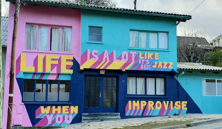 Patagonia Jazz Hostel 2 Habitac Quintuple Magenta