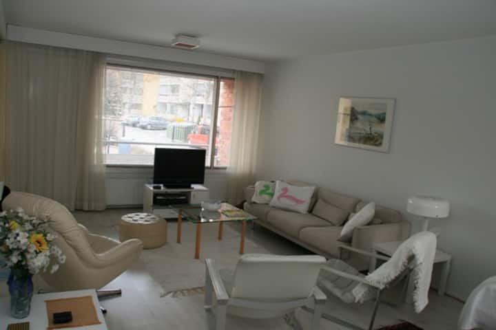 Furnished 3-room flat in the center of Turku