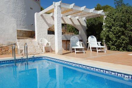 Villa met zwembad & uitzicht over middellandse zee - Alcalà de Xivert - Vila