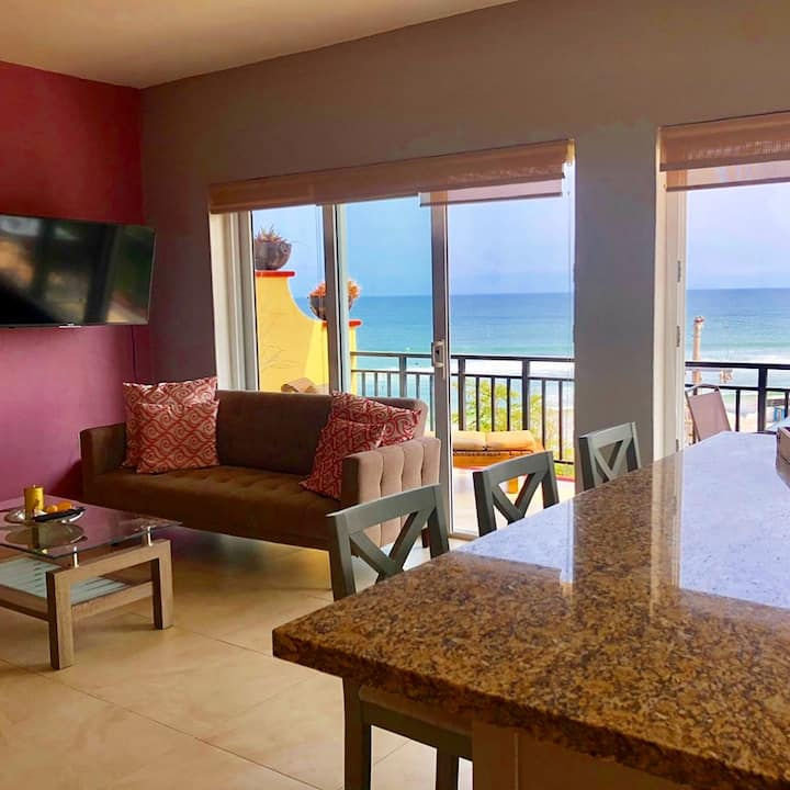 Casa Clara incredible beach view condo book now!