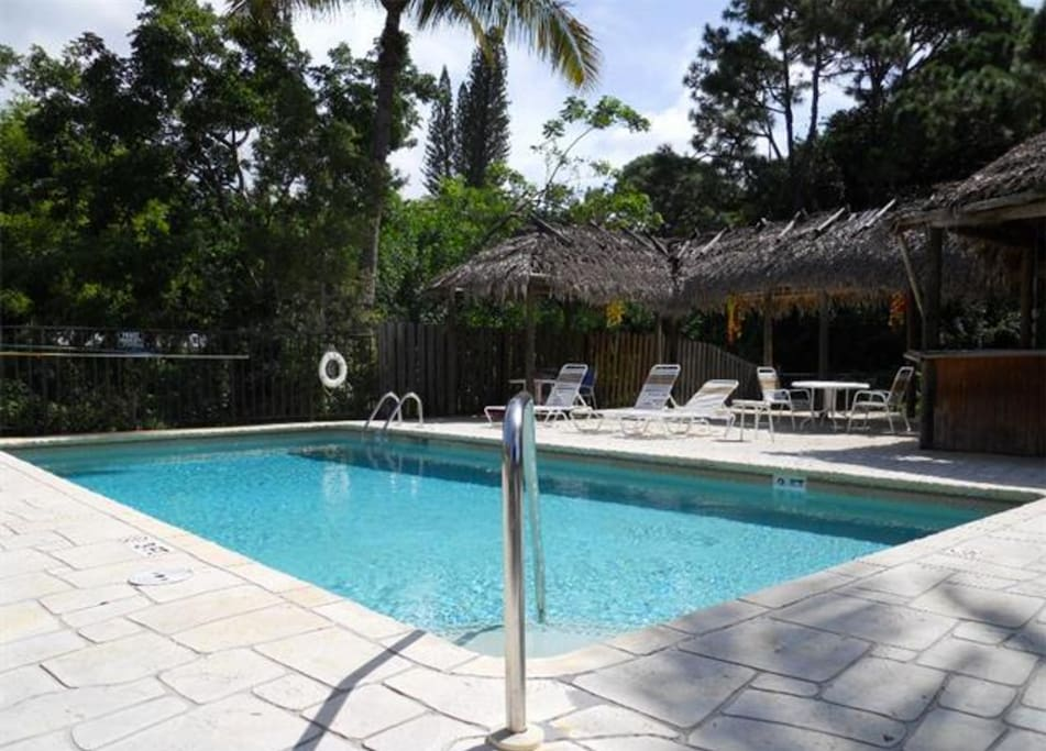 Enjoy the outdoor pool in the heat of Southwest Florida