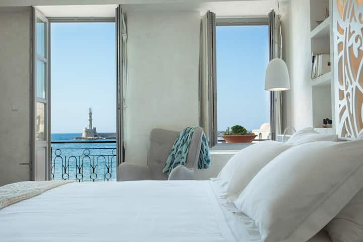ChaniaInn, Double suite with sea view