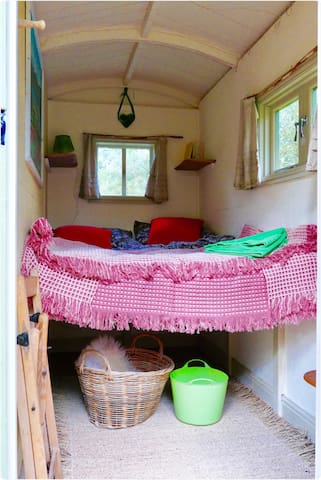 A delightful hut set in nature