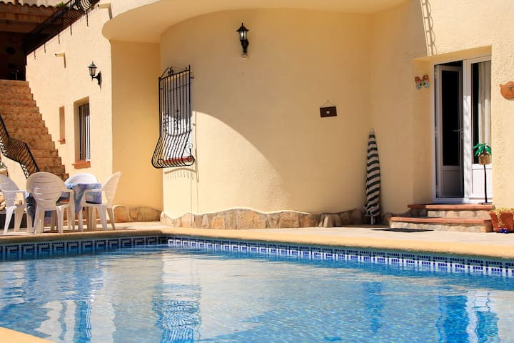 Apartment with private pool - Benitachell - Apartamento