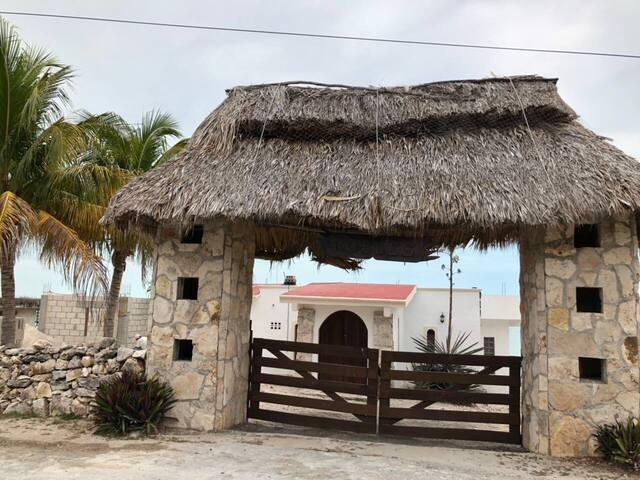 Casa en la playa campeche