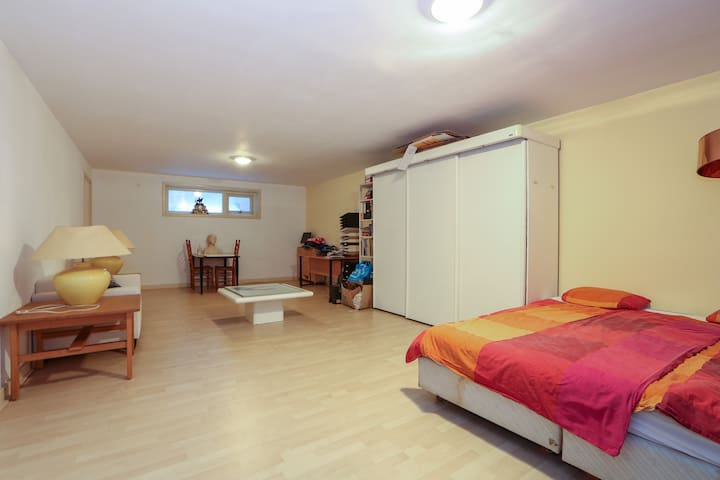 Budget room in B&B (max 2+2) +pay for bathroom use - Wageningen - Bed & Breakfast