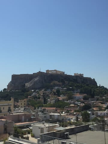 Studio - extraordinary view of Acropolis (83600)