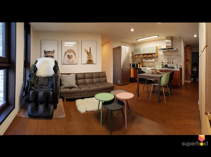 ★Top Luxury House,for BABY,Seoul★2BR,Superhost 4yr