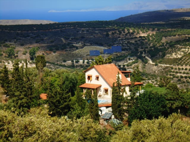 Cottage  Andromeda with outdoor pool - Voros - House