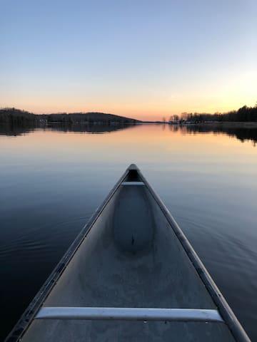 Evening Canoe - Canoe included in rental!