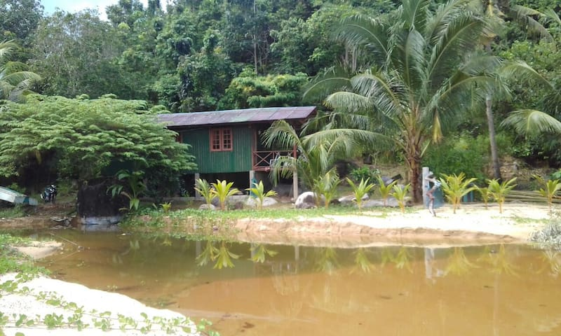 Beachfront Cabin - Juara - Kg Juara, Tioman Island - Hytte