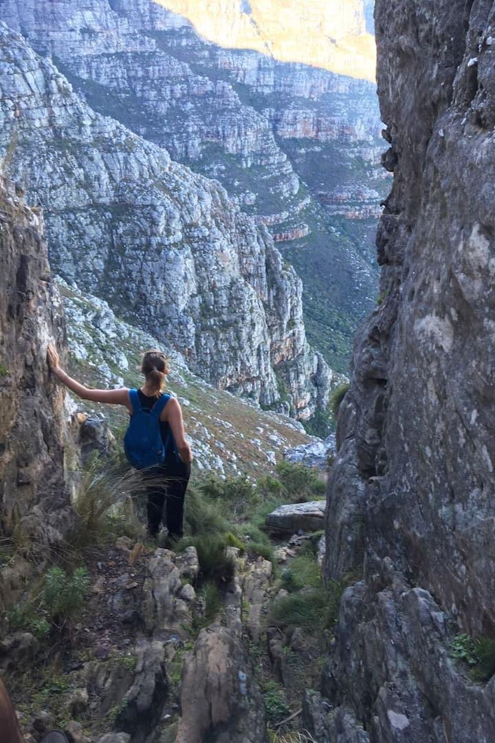 Explore the mountain extensively